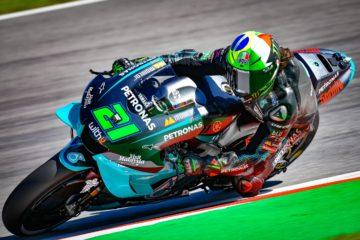Splendida prima pole in MotoGP per Franco Morbidelli al Montmelò  (foto da: motogp.com)