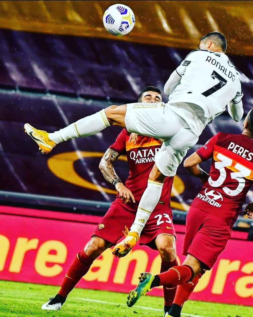L'istantanea del definitivo 2-2 di Ronaldo, fonte