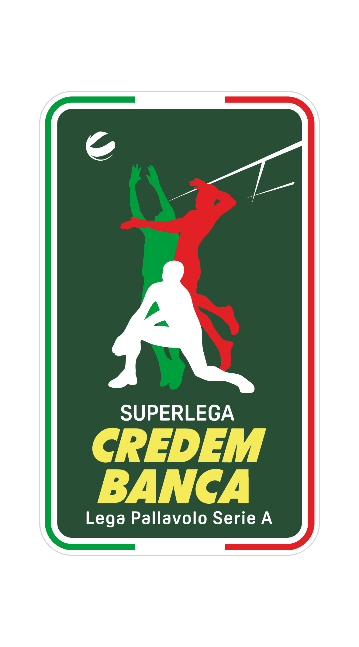 Logo Superlega maschile volley
