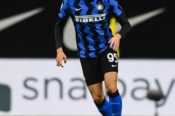 Bastoni, difensore ventunenne centrale dell'Inter.  Fonte: Bastoni Facebook