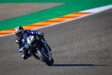 Maverick Vinales si conferma e ottiene il miglior tempo anche nelle PL2 del GP d'Aragona 2020 (foto da: motogp.com)