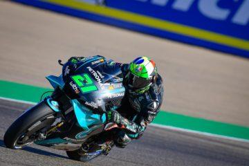 Franco Morbidelli, leader al termine delle PL3 del Gran Premio d'Aragona 2020 (foto da: motogp.com)