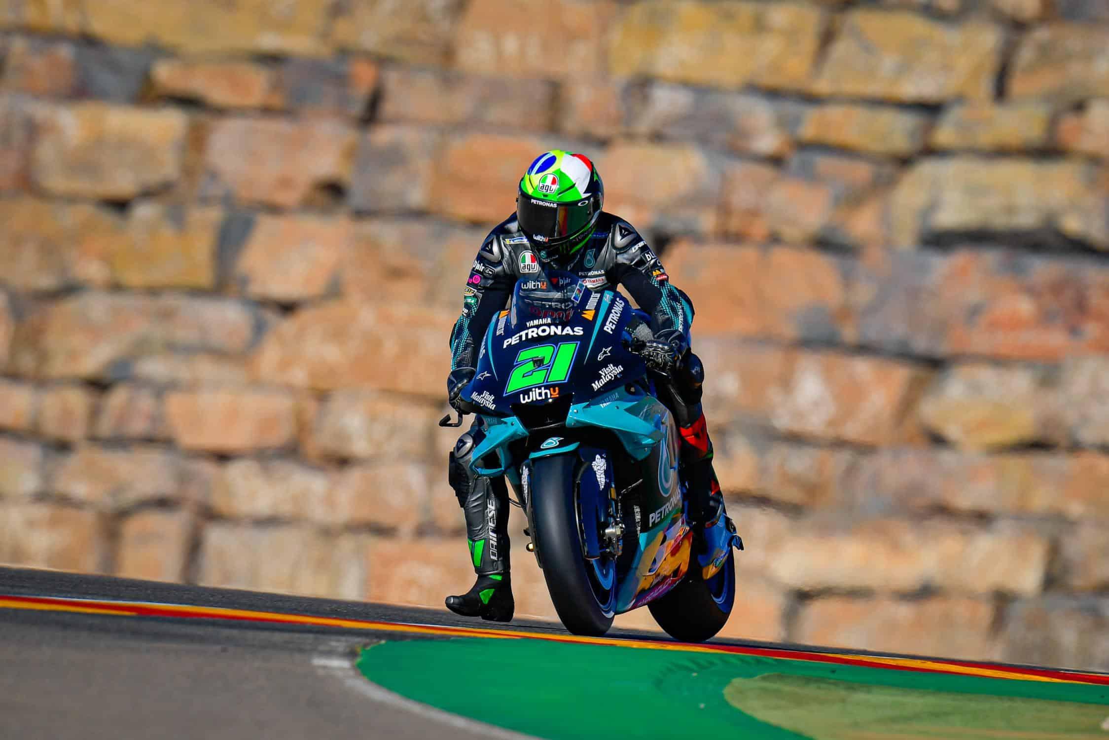 Franco Morbidelli, protagonista nelle PL3 del Gran Premio di Teruel 2020 (foto da: motogp.com)