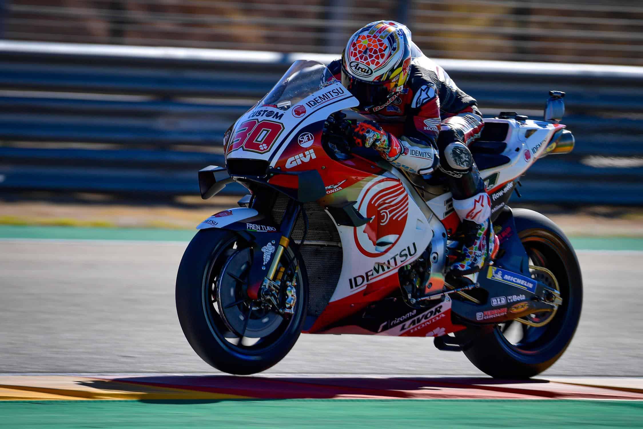 Prima pole in carriera in MotoGP per Takaaki Nakagami (foto da: motogp.com)