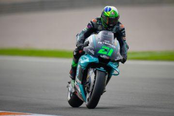 Il miglior tempo nelle PL3 del GP della Comunitat Valenciana 2020 è di Franco Morbidelli (foto da: motogp.com)