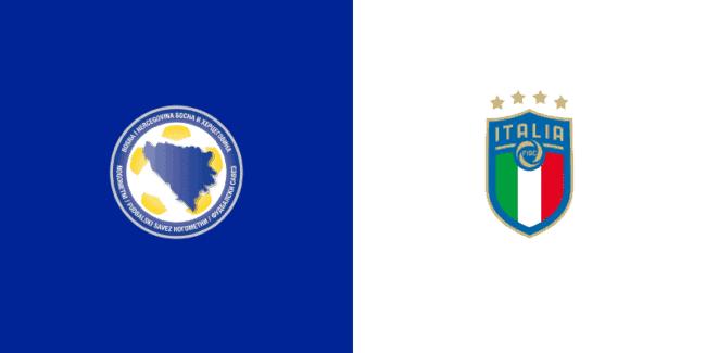 Bosnia-Italia, 18-11-2020