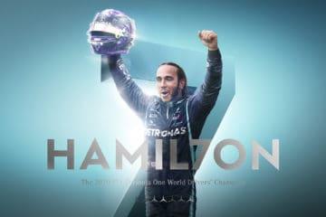In Turchia Lewis Hamilton si è laureato Campione del Mondo per la settima volta in carriera (foto da: twitter.com/MercedesAMGF1)