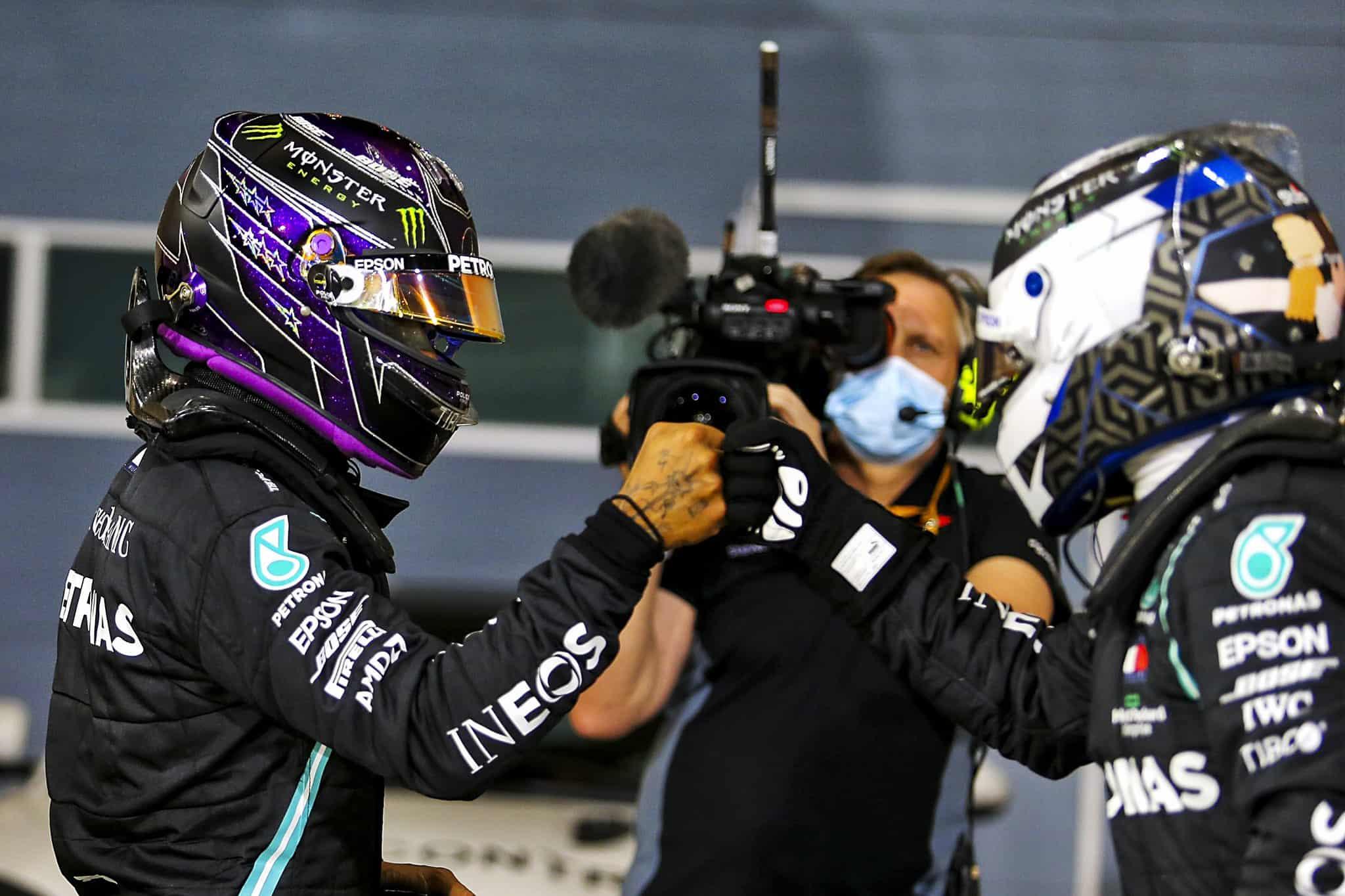 coppia Mercedes Bahrain 2020