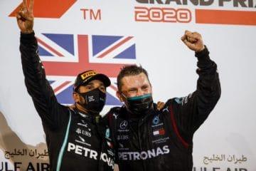 Vittoria Hamilton Bahrain 2020 podio
