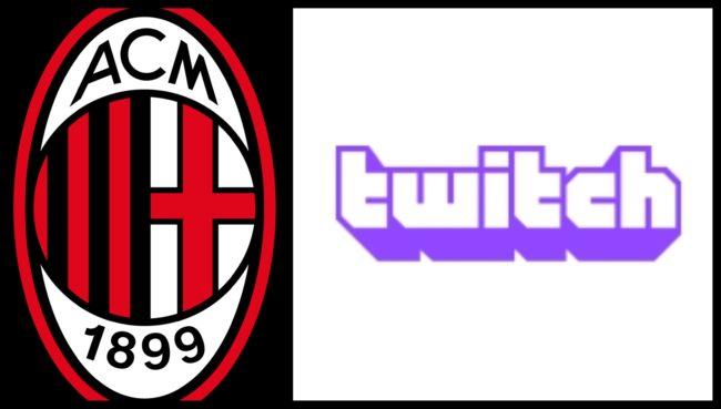 Il Milan lancia il suo canale ufficiale Twitch