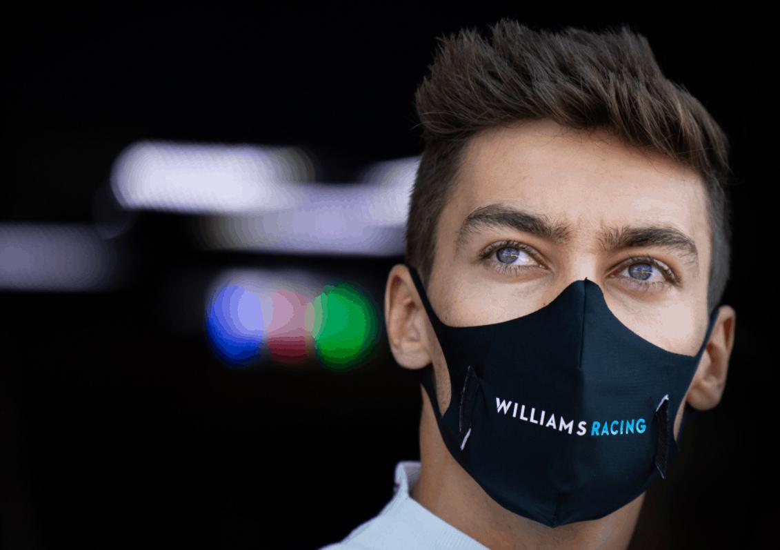 George Russell sostituirà Lewis Hamilton in Mercedes nel GP del Sakhir (foto da: twitter.com/MercedesAMGF1)