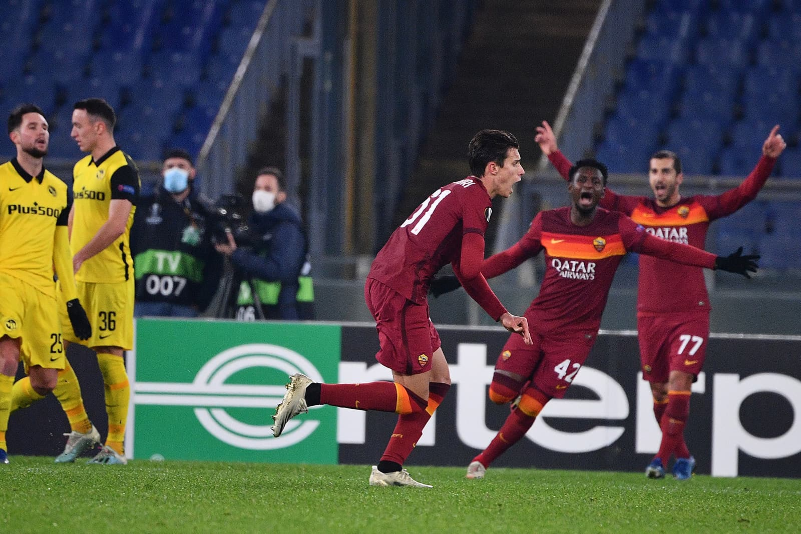 Roma-Young Boys