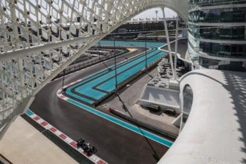 Yas Marina Circuit scorcio