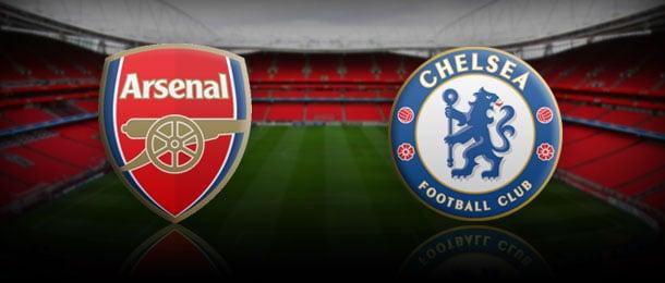 Arsenal Chelsea formazioni