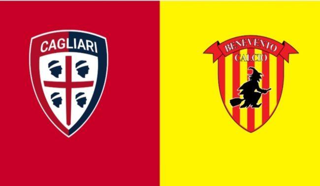 Cagliari Benevento formazioni