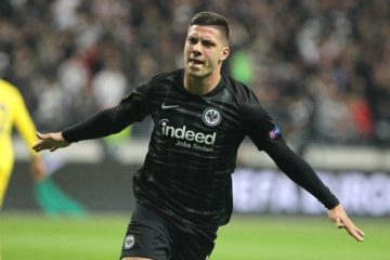 Jovic Francoforte Europa League