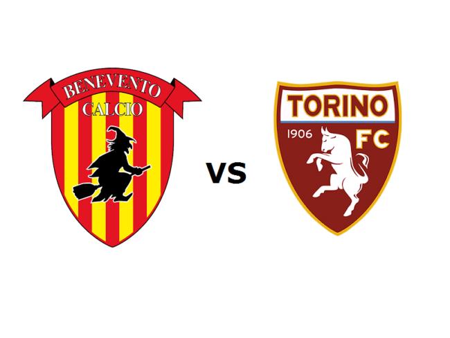 Benevento Torino formazioni