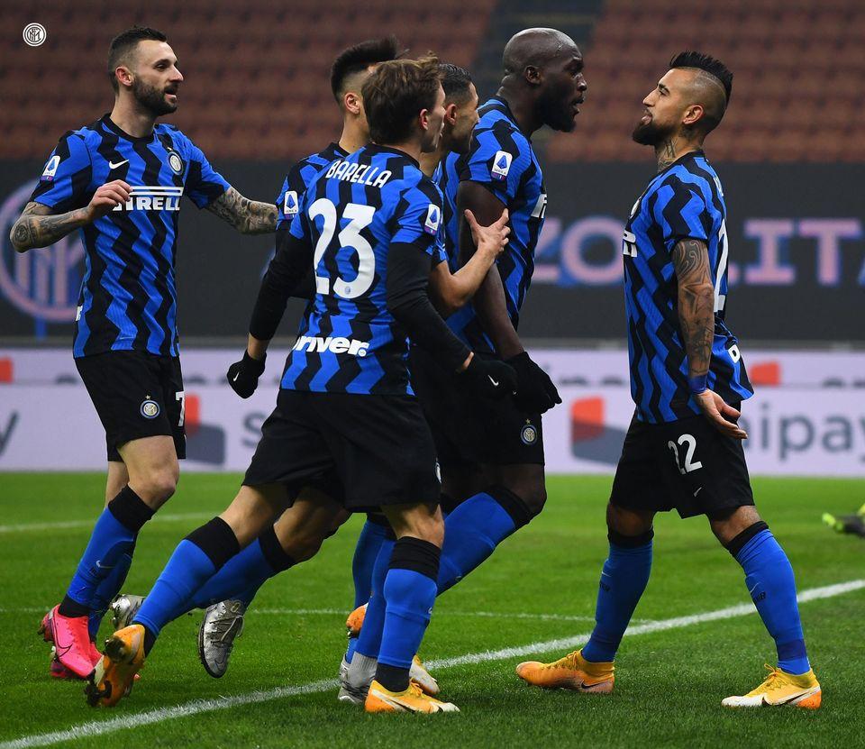 festa goal nerazzurra Inter