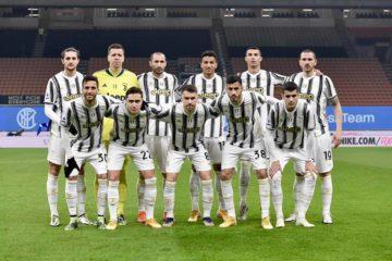 L'undici sceso in campo per il Derby d'Italia