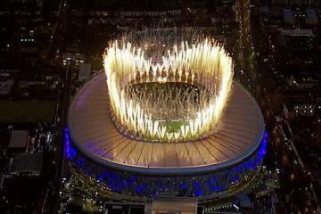Panoramica dall'alto del nuovo impianto del Tottenham