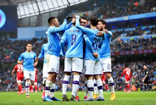 Manchester City Tottenham formazioni
