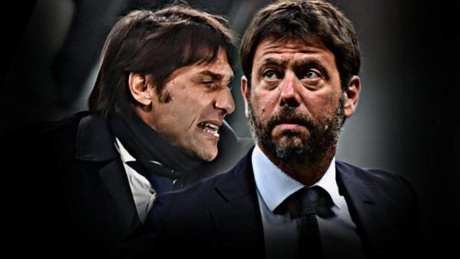 Juventus-Inter: è tensione traConte e Agnelli