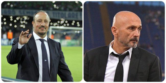 Spalletti Benitez Napoli