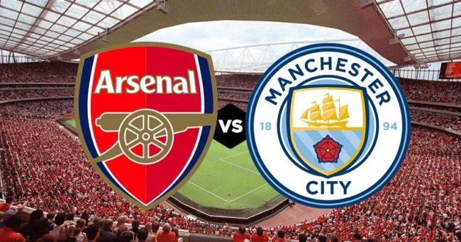 Arsenal Manchester City formazioni