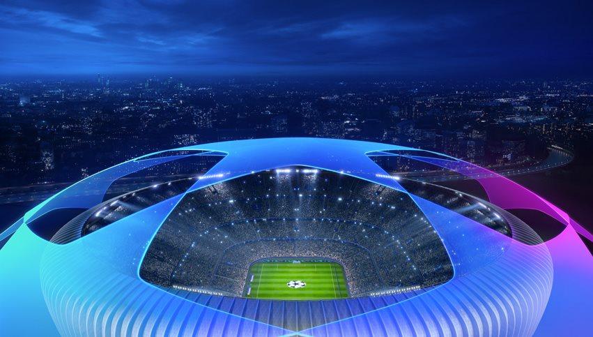 """Un logo della UEFA Champions League, fonte """"Facebook"""""""