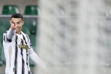 Ronaldo dopo l'illusorio gol del vantaggio
