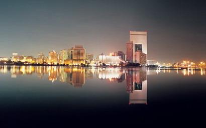 Jeddah di fronte al mare