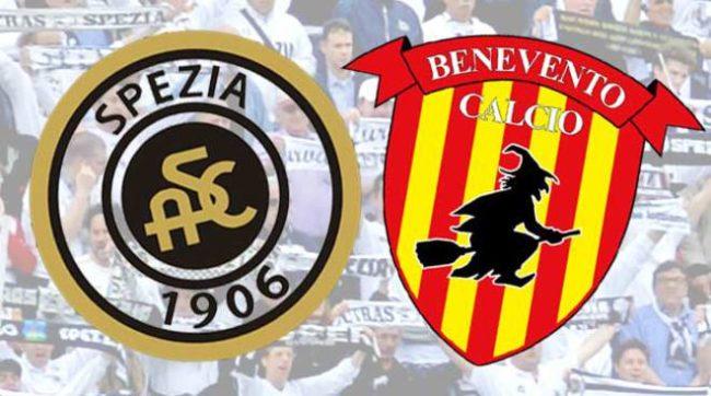 Spezia Benevento formazioni