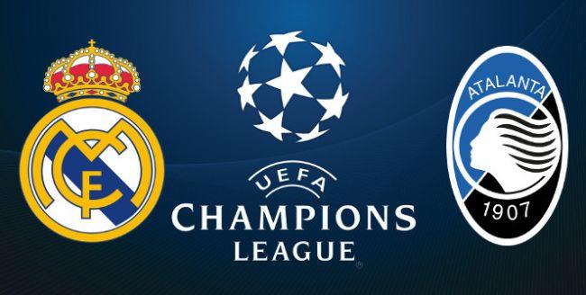 Real Madrid-Atalanta, ritorno ottavi di finale Champions League 16-03-2021.