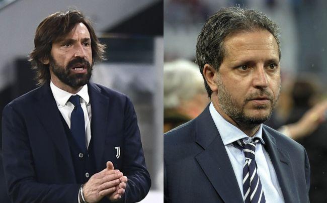 Juventus: Pirlo e Paratici a rischio licenziamento.