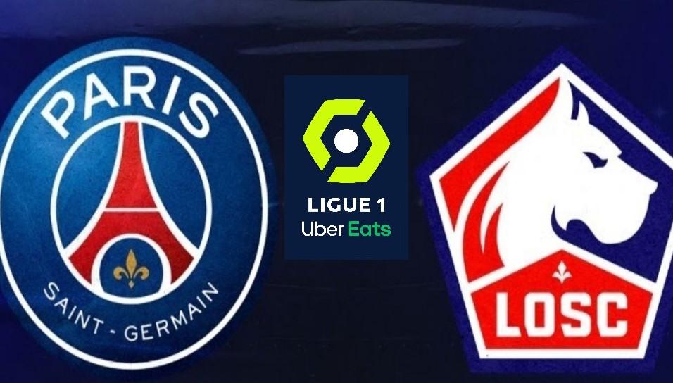 PSG-Lille, 31° giornata Ligue 1 03-04-2021.