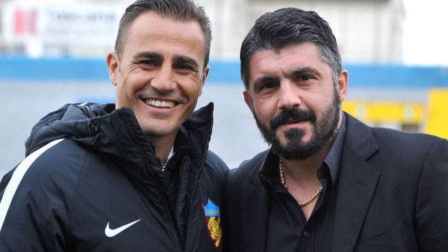 Cannavaro Gattuso Napoli