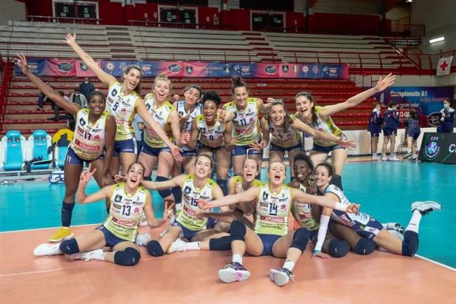 Imoco Volley Conegliano campione d'Italia
