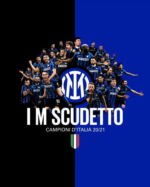 Inter campione d'Italia vince lo Scudetto