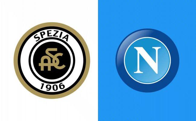 Spezia-Napoli, 35° giornata di Serie A 08-05-2021.