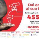"""Lega Serie A si schiera con ActionAid per la Campagna """"Dai Acqua al Suo Futuro"""""""