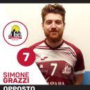 """Volley, ESCLUSIVA Simone Grazzi, schiacciatore 4 Torri Ferrara: """"Con la pallavolo amore a prima vista. Ferrara una seconda casa"""""""