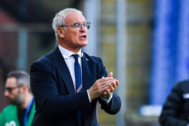 Ranieri addio Sampdoria