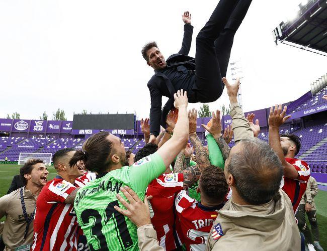 Atletico Madrid campione Spagna