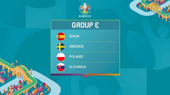 Europei 2021 girone E orari partite