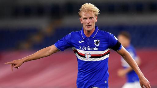 Calciomercato Napoli: piace Thorsby della Sampdoria.
