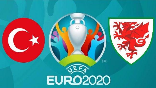 Turchia-Galles, 2° giornata girone A Euro 2020.