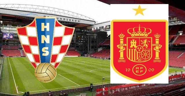 Croazia-Spagna, ottavi di finale Euro 2020.