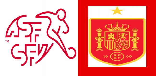 Svizzera-Spagna, quarti di finale Euro 2020 02-07-2021.