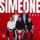 Ufficiale: Simeone rinnova con l'Atlético Madrid fino al 2024