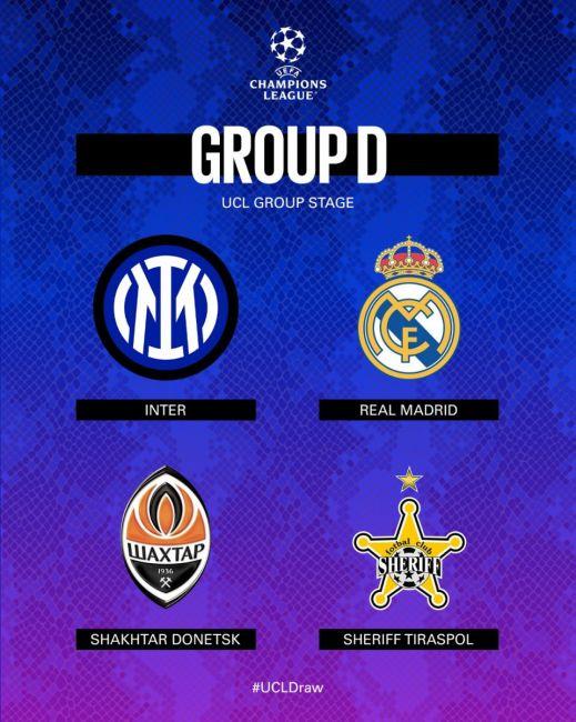 Calendario, orari diretta tv-streaming Girone Inter Champions League.